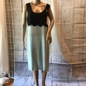 MARNI 42 silk crepe gorgeous dress NEW